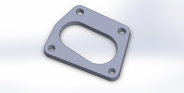 Fiat 500 Abarth Dowhpipe Flange