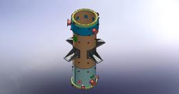 Polytube heatexchanger arrangement
