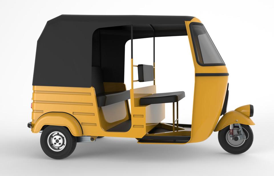 Auto Rickshaw | 3D CAD Model Library | GrabCAD