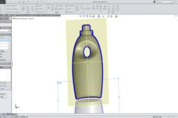 [SOLIDWORKS DEISGN] Modeling detergent bottle