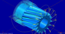 Engrenagem helicoidal (Helical gear)