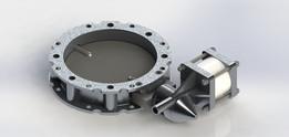 WAM V2FS 250 butterfly valve
