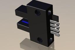 Slot Type Through Beam Sensor  Omron EE-SX670