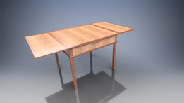 The Draw Leaf or Dutch Pull-out Table