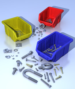 Fastener parts library