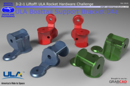ULA Boattail Support Bracket 04a