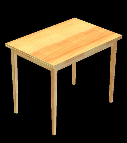 ikea jussi table autodesk inventor stl step iges