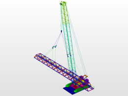 Conveyor LifTing n Rigging by Sling + Pulley + Spreader + inclined