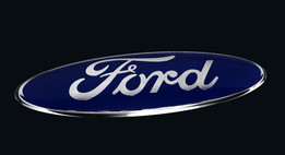 Ford Iso Badge Plate