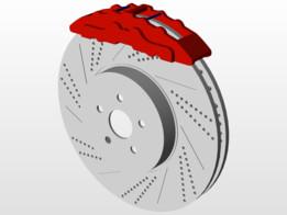 Disc brake - Freio a Disco ( Protótipo/Prototype )