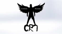 Cristiano Ronaldo / CR7 / logo / motive / garnish
