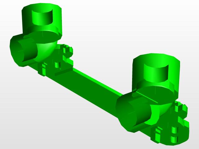 Библиотека фитингов на PPR трубы WAVIN Ekoplastik | 3D CAD