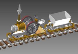 Lanz Feldbahn Maschine