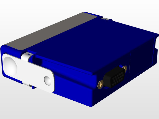 National Instruments C-series module | 3D CAD Model Library | GrabCAD