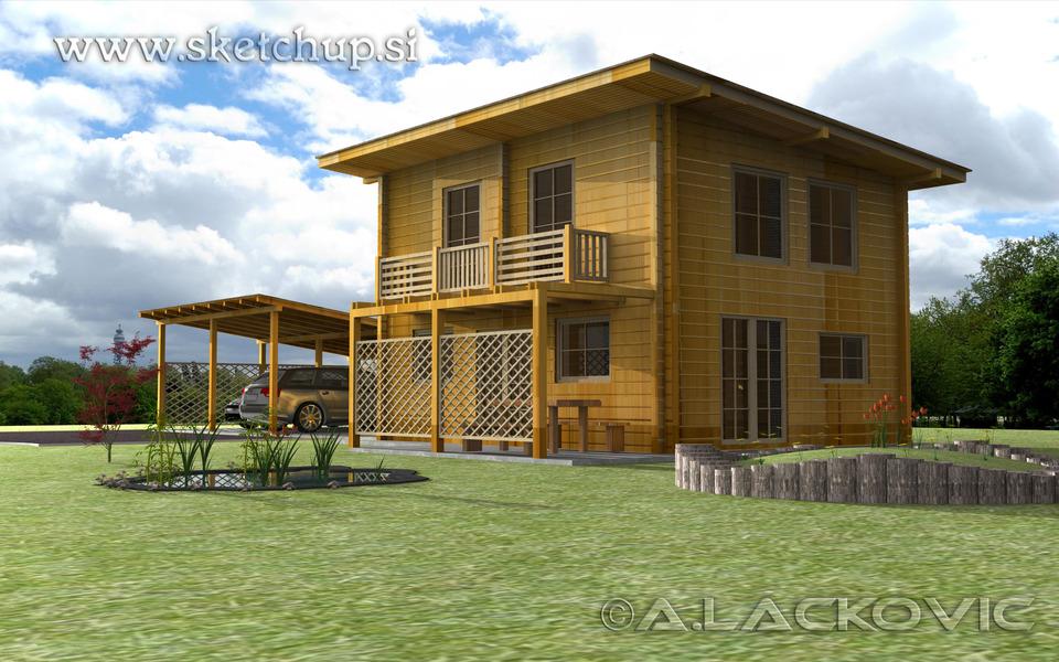 Model my house in sketchup
