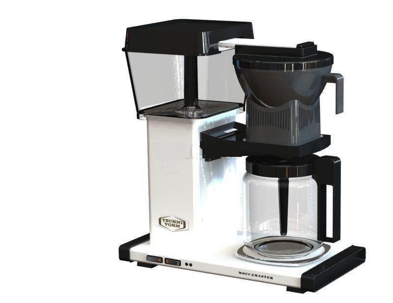 Coffee Maker - SOLIDWORKS - 3D CAD model - GrabCAD