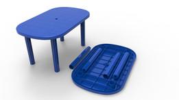 Plastic Table Model 04