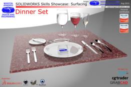 SW Skills - Dinner Set