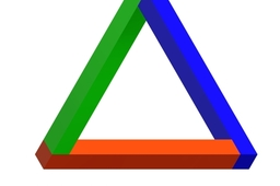 'impossible' triangle