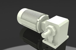 Motor 0.4kw ratio 1:15