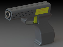 Pistol with Thumb ID