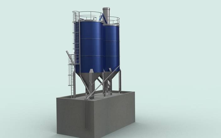 7s model of cement