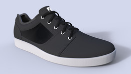 DC Shoes Black Sneakers