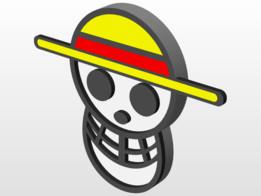 One Piece Skull Logo