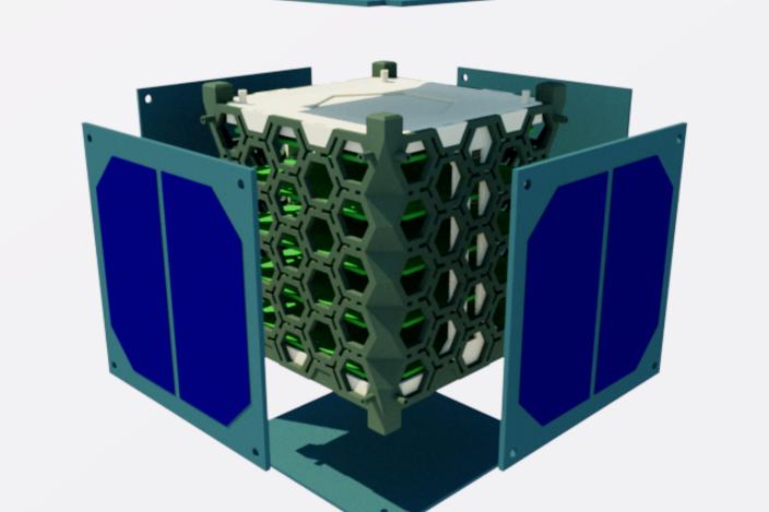 Cartridge Loading Cubesat Concept Stl Sketchup Other