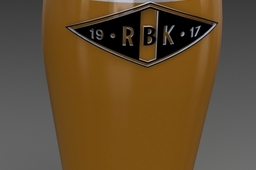 Rosenborg beer glass