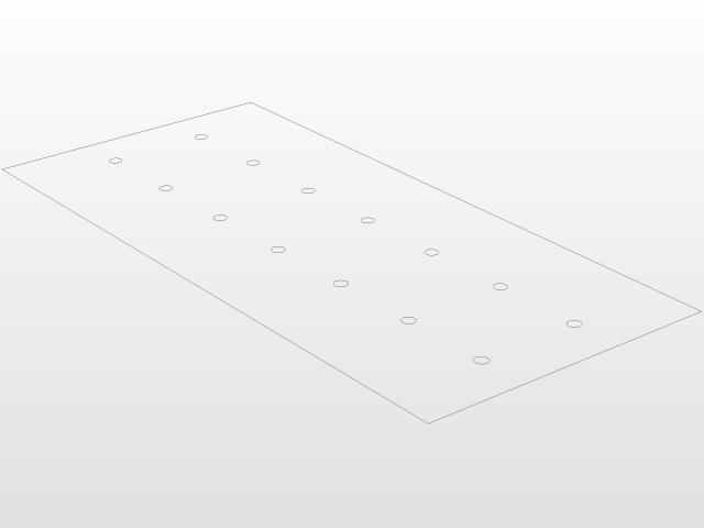 BBQ, folding grill, laser/plasma cut model dxf | 3D CAD Model Library