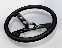 350mm Deep Dish Steering Wheel