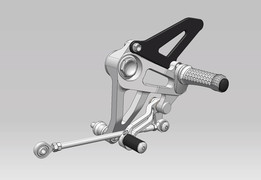 MotoCorse rearsets (for Ducati Monster 1100)