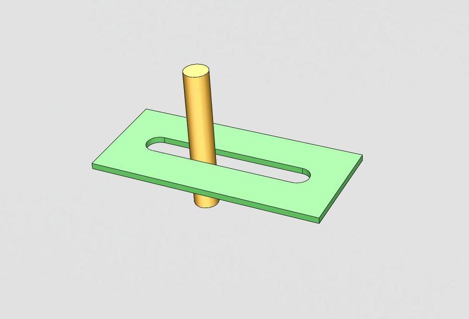 PinSlot Limit mate  3D CAD Model Library  GrabCAD