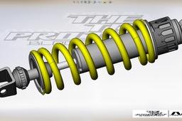 Yamaha TRX 850 shock absorber