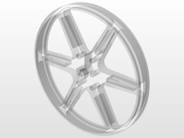 Pololu wheel 80×10mm without tire