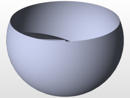 spherical involute