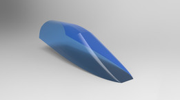 Designed for Mirage f1 - windscreen & canopy