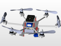 hexacopter - Recent models | 3D CAD Model Collection | GrabCAD