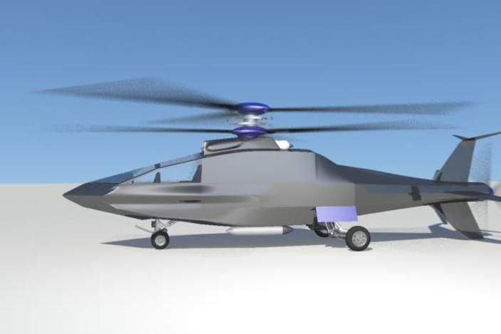 Sykorsky helicopter new design - Autodesk Maya - 3D CAD model ...