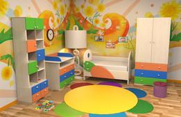 """Комплект детской мебели """"Для маленьких"""""""