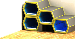 Hive - A smart hexagonal sleeping concept