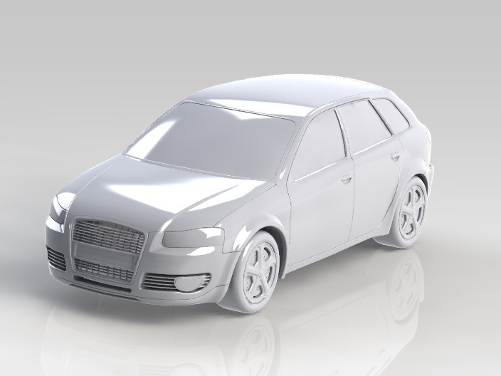 Simple Car | 3D CAD Model Library | GrabCAD
