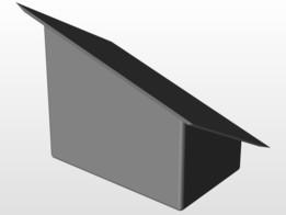 Windshield box mount