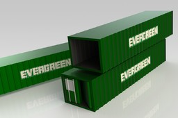 40 ft EVERGREEN Shipping Container Enclosure w/o Refrigerant