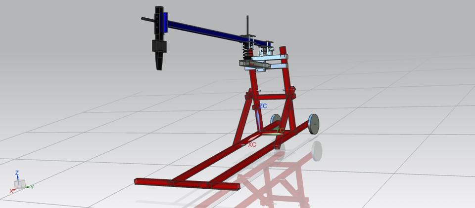 manual wood splitter 3d cad model library grabcad rh grabcad com Log Splitter Wedge Log Splitter Wedge