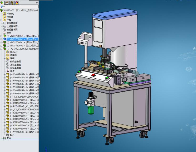 Prensa servo electrónica automática-Automatic electronic servo press