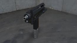 BloodFire-2 Submachine Gun