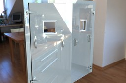 Dual Freezer Door Assembly