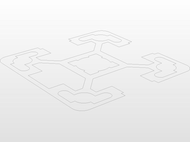 40X40 3N BR ALUMINIUM PROFILE   3D CAD Model Library   GrabCAD